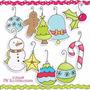 Kit Imprimible Navidad Clipart Imagenes Cod 130 | KITIMPRIMIBLE_CL