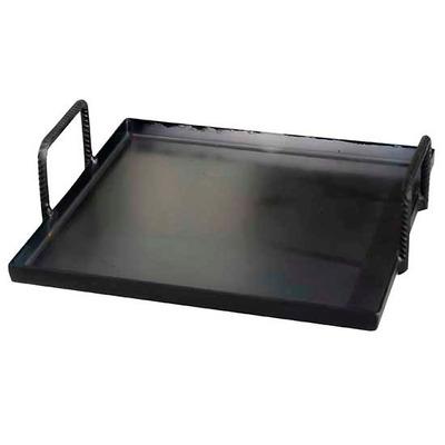 Plancha churrasquera para parrilla o cocina 40cm x 40cm - Plancha de cocina para empotrar ...