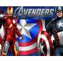 Kit Imprimible Los Vengadores Avengers Diseñá Tarjetas Y Ma | MANUALDETALLER-STGO