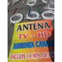 Antena Tv Hd Con 10 Mt Cable Rg6 60%m | MAPTRECE MUNDOWIFI