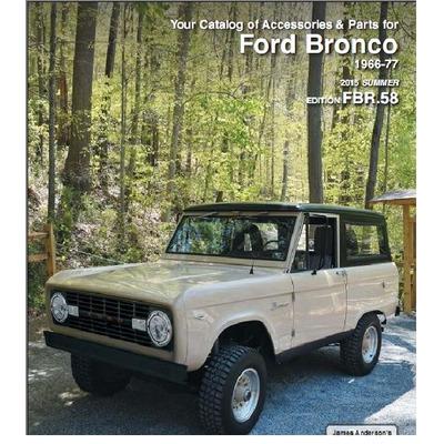 Catalogo De Partes Ford Bronco, 1966-1977, Envio Gratis