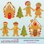 Kit Imprimible Navidad Clipart Imagenes Cod 126 | KITIMPRIMIBLE_CL