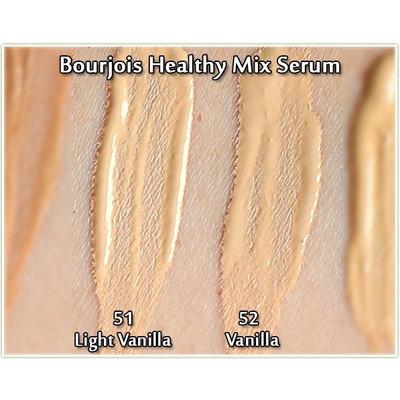 Base Maquillaje Healthy Mix Serum, Bourjois [tono 51 Y 52