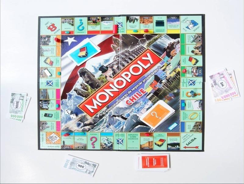 Monopoly Chile Hasbro Alegrarte